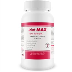 Joint Support - Joint MAX TRIPLE Strength (120 CHEWABLE TABLETS)
