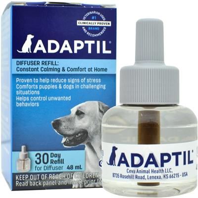 ADAPTIL (DAP) Dog Appeasing Pheromone Diffuser REFILL (48mL)