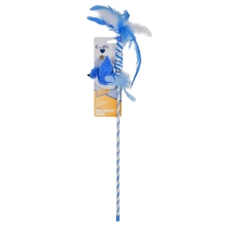 OURPET'S REAL BIRD WAND BLUE JAY