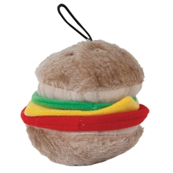 Booda Soft Bite Plush Hamburger Medium