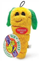 Booda Soft Bite Plush Carrot Medium