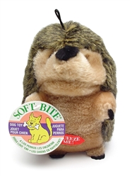Booda Soft Bite Plush Hedgehog Large