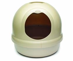 Booda Dome Litter Pan Titanium
