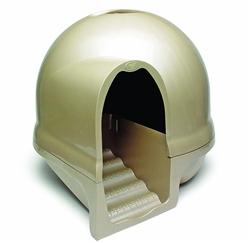 Booda Dome Cleanstep Litter Pan Titanium