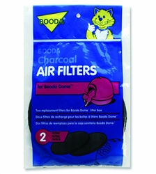 Booda Dome Litter Pan Filter 2pk