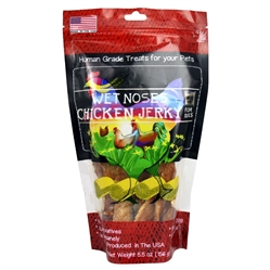 Wet Noses Chicken Jerky 6oz 6/Pack