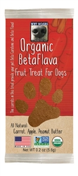 Wet Noses Organic Fruit Treats Carrot 1ea 30/Pack