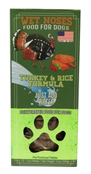 Dehydrated Turkey & Rice 12oz 8/Pack