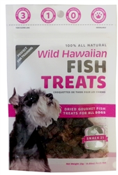 Snack 21 - Wild Pacific Hawaiian Fish Treats (25g) Bag
