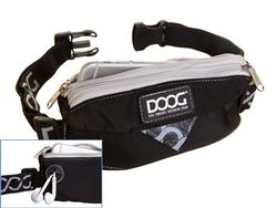 Mini Running Belt - Black - STRETCH