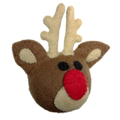 Wooly Wonkz Holiday Toy Reindeer
