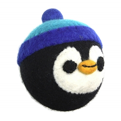 Wooly Wonkz Holiday Toy Penguin