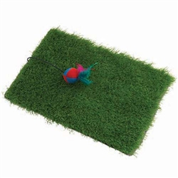 KittyRageous Turf Scratcher Mat for Cats