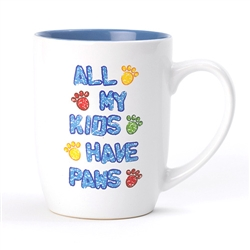 All My Kids Have Paws Stoneware Mug