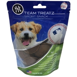 NY YANKEES DOG TREATS