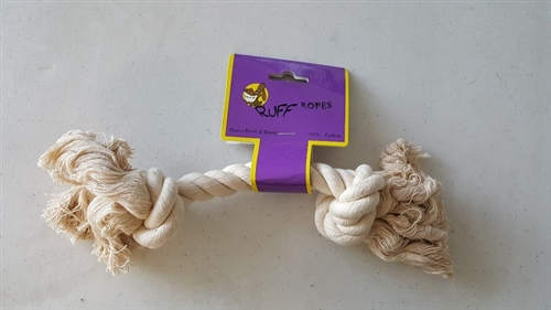 ROPE TOY (2 KNOTS WHITE)   50% off