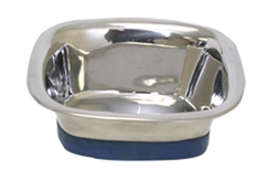 OURPET'S DURAPET PREMIUM STAINLESS STEEL SQUARE BOWL