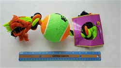 XLG  ROPE TOY (1 BALL)   50% off