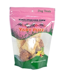HIMALAYAN DOG CHEW YAKY PUFF 2 OZ.