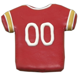 49ers Football Jersey Treats (2 cases of 12) - 2 Week Lead Time