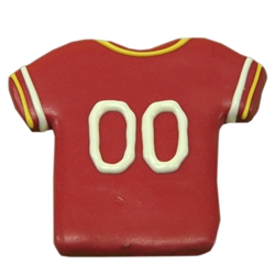 Red Skins Football Jersey Treats (2 cases of 12) - 2 Week Lead Time