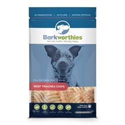 BARKWORTHIES BEEF TRACHEA CHIPS (NET WT. 16 OZ. )