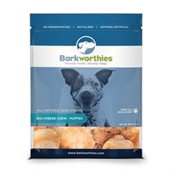 BARKWORTHIES BIG CHEESE CHEW - PUFFED (NET WT. MIN. 05 OZ. )