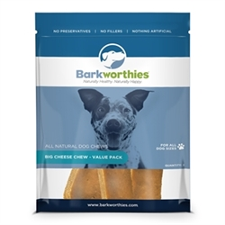 BARKWORTHIES BIG CHEESE CHEW - VALUE-PACK