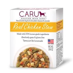 Caru Dog Stew Real Chicken 12.5oz.
