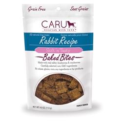 Caru Dog Natural Rabbit Treats Bites 4oz.