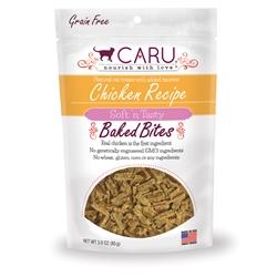 Caru Cat Natural Chicken Recipe Bites 3oz.