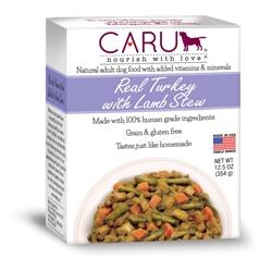 Caru Dog Stew Real Turkey w/ Lamb 12.5oz.