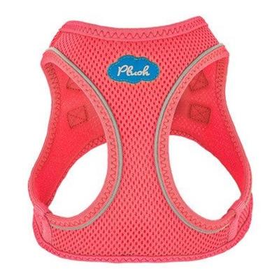 Bubblegum Pink Plush Step In Vest Air-Mesh Harness