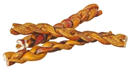 Red Barn Braided Bully Sticks   7inch