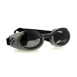Gray ILS Doggles with Smoke Lens & Straps