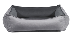 Oslo Ortho Bed Shadow Microvelvet