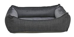 Oslo Ortho Bed Storm Microlinen (Ash Microvelvet Inside)