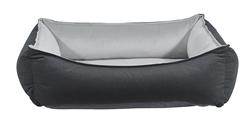 Oslo Ortho Bed Flint Microvelvet (Granite Microvelvet)