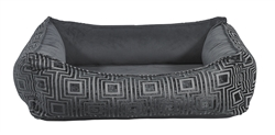 Oslo Ortho Bed Twilight Microvelvet