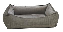Oslo Ortho Bed Driftwood Microlinen (Pebble Microvelvet)