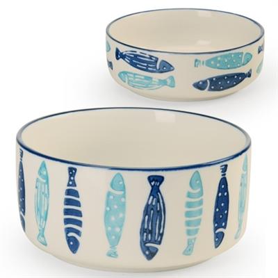 Coastal Fish - Pet Bowls
