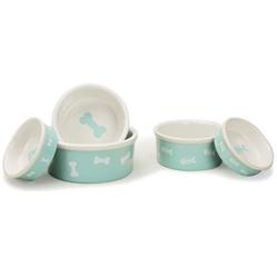 Aqua Bone & Fish Pet Bowls
