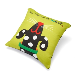 "You Had Me at Woof Accent Pillow (18"" x 18"")"