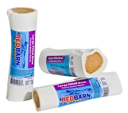 REDBARN FILLED BONE PEANUT BUTTER LARGE