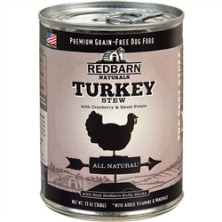 REDBARN TURKEY STEW  13OZ (Case of 12)