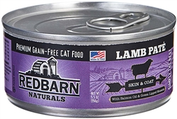 REDBARN NATURALS OCEAN FISH PATE HEALTHY WEIGHT CAT CANNED FOOD 5.5OZ (Case of 24)