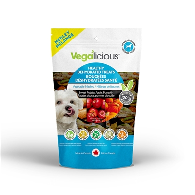 Vegalicious™ Healthy Dehydrated Treats - Vegetable Medley