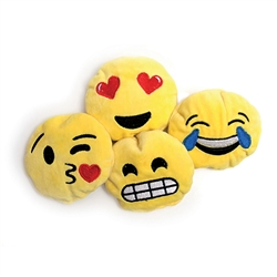 Assorted Emoji Faces (Set of 2) by Bavarian Cat