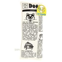 Krinkle Squeak Newspaper Pet Qwerks