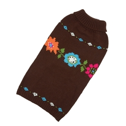 Bella Floral Hand Knit Sweaters